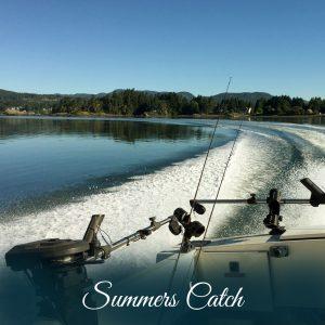 Salmon Fishing Sooke BC
